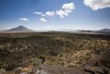 The plains of Cantona. Pizarro peak on the left.
