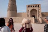 Silk route Day 7, Turpan Irmin mosque and the Flame Mountains
