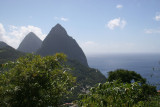 The Famous Pitons of St. Lucia