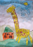 giraffe, Kyden, age:4