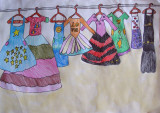 my beautiful dresses, Nancy Chen, age:6