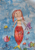 Mermaid, Eva, age:4.5