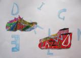 shoe design, Daniel, age:9.5