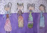 beautiful dresses, Emma Chen, age:7