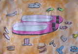 shoe design, Sophia Su, age:9