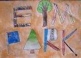letter design, Sophia Su, age:8.5