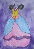 my beautiful dress, Alice, age:5