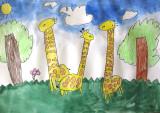 giraffe, Amber Su, age:5