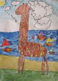 giraffe, Emma Ying, age:5.5