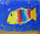 fish, Sunny Sun, age:5