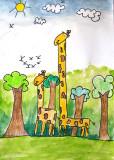 giraffe, Polly, age:7