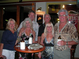 Enjoying a night out in Port Douglas, Queensland