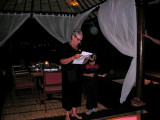 Chris giving her birthday speech 21 September 2007