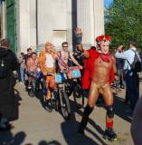 london naked bike ride 2012