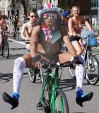 London World Naked Bike Ride 2012