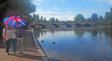 Tourists and the Serpentine