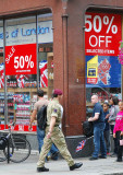 Cut price sale two days before the end