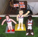 Knitted Olympians