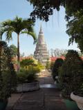 GARDENS OF ROYAL PALACE IN PHNOM PENH