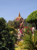 GARDENS OF THE ROYAL PLACS IN PHNOM PENH
