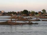 MEKONG RIVER  FISH TRAWLING