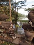 LAKE AROUND TEMPLE