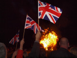 QUEENS JUBILEE CELERBRATIONS BEACON  ON EPSOM DOWNS