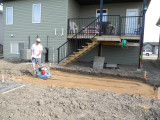 Tamping for the Patio