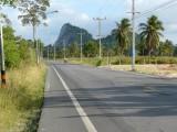 Road not far from pattaya