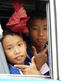 Schoolbus kids