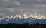 Storm Clouds Over the BC Coastal Mountain Range