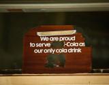 Old Cola Sign