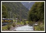 The Little Train back to Interlaken