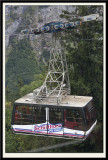 Cable Car coming down from Schilthorn