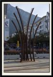Rail and Rack Sculpture