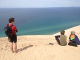 Dune over Lake Michigan