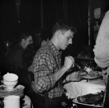Fred Maples at one of Woddie's dinners in 1962