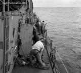 Field Day at Sea, USS Hugh Purvis, DD 709
