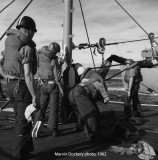 Hugh Purvis sailors refueling