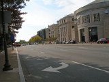 Looking South, 14th and Independence Ave. (US Hwy 1), Washington DC