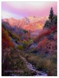 Battle Creek Sunset with art filter.