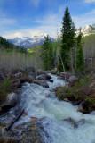 Mountain creek runoff