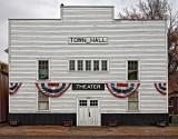 Theater and Town Hall - Medora, North Dakota