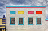 Colorful Building - Silver City New Mexico