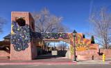 Gateway to Old Town - Albuquerque, New Mexico