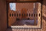 Ironwork Window - Los Cerrillos, New Mexico