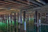 Under the Pier - San Luis Pier - San Luis Bay, California