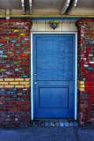 Colored Door - Morro Bay, California
