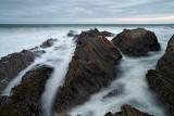 Soft Waves and Stone - Montana de Oro State Park - California