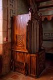 Confessional - San Migel Mission - Paso Robles, California